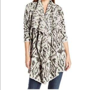 Lucky brand women's XL oversized ikat cardigan